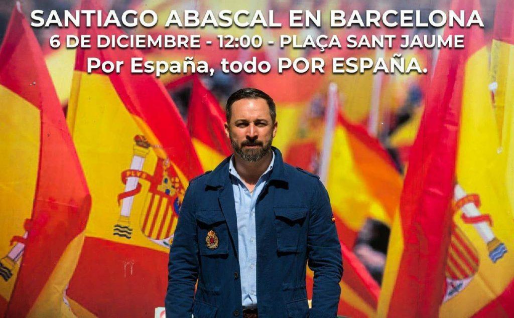 Convocatòria de Vox a Barcelona
